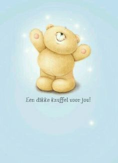 Dikke knuffel voor jou Tatty Teddy, Sweet Friendship Quotes, Big Hugs For You, Friend Cartoon, Blue Nose Friends, Happy B Day, Cute Bears, Happy Birthday Wishes, Friends In Love