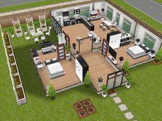 Sims House Sims  House Plans Home Plans House Design House Floor Plans