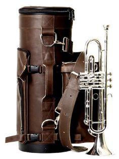 Torpedo Bags Classic Loredo Trumpet Gig Bag (Brown)