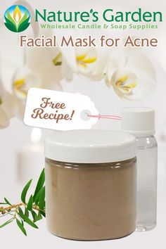 Facial Mask for Acne Recipe by Natures Garden