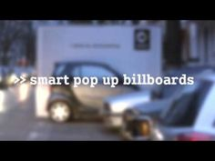 "Given that Smart is unbeatable, when it comes to finding a parking space, BBDO decided to showcase it with the ""POP UP Billboards"": instead of putting the car into a poster, they rather put the poster onto the Smart, straight into the real world, throughout the city, where it currently shines with its skills. Because the best ad for the Smart is the Smart."
