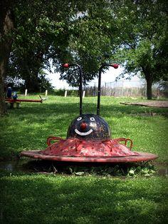 Ladybug Merry-go-round - Truro, Iowa