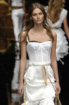 Dolce & Gabbana at Milan Spring 2006
