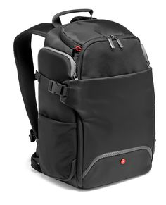 The Manfrotto Advanced rear access backpack is something more than a camera backpack! It can be used as a DSLR backpack, a laptop backpack, a daypack or just take the protective camera case out and use it as a camera  insert inside your daypack. The lower compartment holds a professional DSLR  camera body (e.g 5D mark III or D800) with three lenses (e.g. 16-35/2.8, 24-70/2.8,  70-200/2.8). The zipper of the camera compartment hides on the backside of the  backpack close to body of you, which…