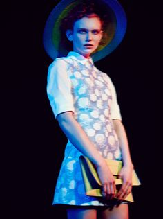 This season's flora cannot be contained. It bursts wildly forth: digital, decadent, seeking the light and commanding attention. From Mary Katrantzou's obscenely fertile blooms to Marni's fleshy hibiscus petals, plants are brash, bejewelled, ecstatic. - See more at: http://magazine.luisaviaroma.com/editorial/acid-botanica/#sthash.Qa1Ybzst.dpuf