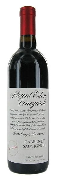 Wine & Spirits' Wine of the Month (November 2014) - Mount Eden Vineyards Estate Cabernet Sauvignon 2010, $59.95 (www.liquiddiscoun...)