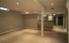 Basement Remodeling Ideas - Low ceilings and small windows