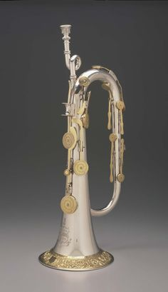 Keyed bugle in B-flat | Museum of Fine Arts, Boston