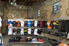 Prachtige fietsenwinkel in Austin, Mellow Johnnys