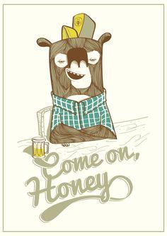 Come on, honey by Henrique Mantovani Petrus,