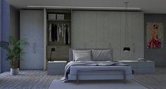 armarios, camas, mesillas con materiales de última generacíón