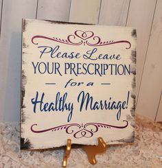 Guest Book/Please Leave Your Prescription by gingerbreadromantic, $29.95