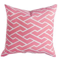 Caitlin Wilson Textiles: Pink City Maze Pillow Great site for Fabrics and inspiration. this would be so cute with those curtains! Pink Throw Pillows, Toss Pillows, Accent Pillows, Pink Cushions, Colorful Pillows, Custom Pillows, Decorative Pillows, Labyrinth, Geometric Throws