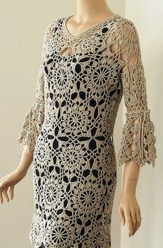 Ravelry: Andromeda Dress pattern by Doris Chan