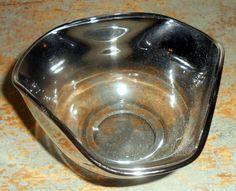 Vintage Bowl Smoky Glass Dorthy Thorpe Style Candy by TheBackShak