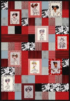 Nifty Nurses Quilt Pattern patterns