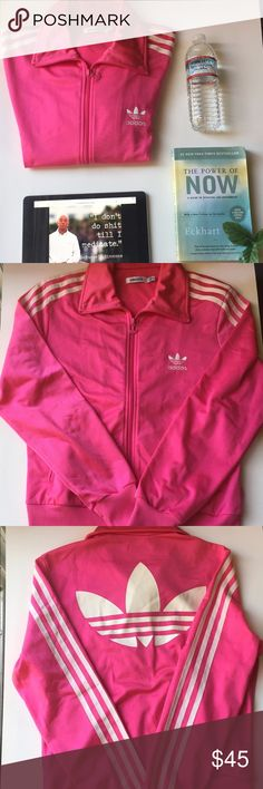 Pink Adidas Track Jacket Pink adidas track jacket a must have closet piece . Adidas Jackets & Coats