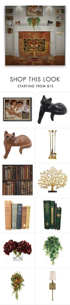 """""""Untitled #736"""" by colonae ❤ liked on Polyvore featuring interior, interiors, interior design, home, home decor, interior decorating, Hobbs, NOVICA, Andrew Martin and Michael Aram"""