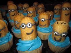 Despicable Me Twinkie Cupcakes! @Jessica Purdin
