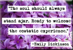 Emily Dickinson Soul Ajar Refrigerator Locker Quote Magnet Or Pocket Mirror Writing Quotes, Words Quotes, Literary Quotes, Poetry Quotes, Quotes Quotes, Sayings, Emily Dickinson Quotes, National Poetry Month, Grilling Gifts