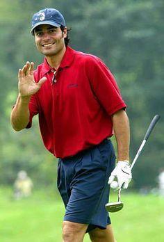 Chayanne, relax jugando al golf