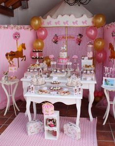 Carousel of Dreams Party | CatchMyParty.com