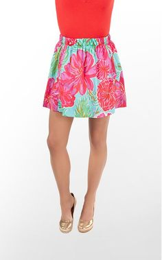 """Cissy Skirt"" in ""Shorely Blue Bellina"" (Resort 2011) #lillywishlist"