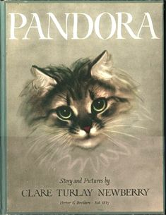 """""""PANDORA"""" by Clare Turlay Newberry, 1944 - book cover"""