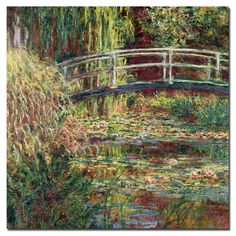 Claude Monet; 'Waterlily Pond Pink Harmony, 1900' Canvas Art by Trademark Fine…