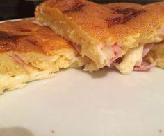 Tortilla de queso y jamón dulce de Mireia Nogue