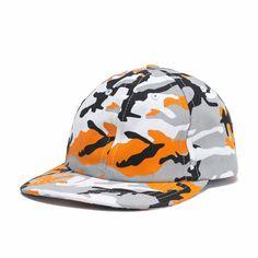 Camo Dad Hat (Orange)   The Kylie Jenner Shop