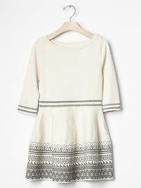 Fair isle border sweater dress Regali Di Natale 7d09f53e0c2