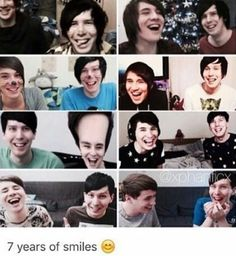 Their smiles got bigger. Their laughs got stronger. Crys