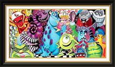Disney Art; Monsters Inc.