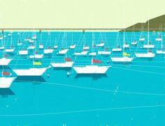 sailboat dock
