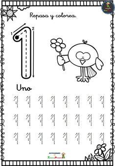 Colección de fichas de grafomotricidad números - Imagenes Educativas Mason Work, Preschool Spanish, Numbers Kindergarten, Zeina, Kids Learning Activities, Gross Motor Skills, Math Worksheets, Kids And Parenting, Education