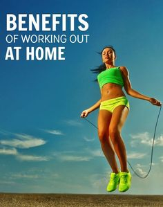 The benefits of working out at home might be more than you know -- once you finish your run here's how to round out training