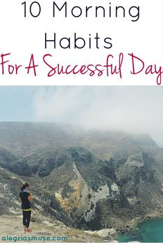 A while back, I read an incredibly inspiring article that fell completely in line with habits that I already had in my morning or those I wanted to have.