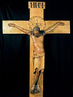 Gero Crucifixion (Romanesque period) c. 975, Cologne Cathedral