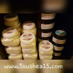 Whipped Shea butter ready to ship