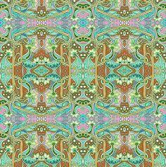 When Mermaids Dream fabric by edsel2084 on Spoonflower - custom fabric