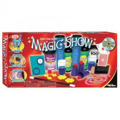Spectacular Magic Show 100 Trick Set - One of our biggest magic sets with 100 easy-to-learn tricks with high quality parts. Turn a glass into a bottle! Pass balls through solid cups Vanish an entire deck of cards! Cool Card Tricks, Purple Cups, Magic Sets, Easy Magic Tricks, Great Hobbies, Online Craft Store, Paint Cans, Deck Of Cards, Cool Cards