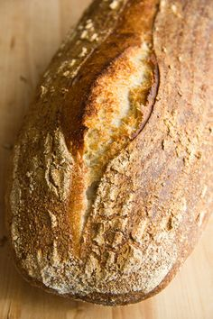 Wheat sourdough bread by Chad Robertson - option translate