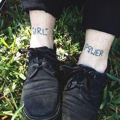 Girl Power Tattoo   http://tattoos-ideas.net/girl-power-tattoo/
