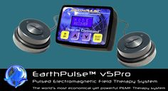 PEMF device for sleep, chronic pain, anti-aging and loads of many more benefits - EarthPulse v5Pro PEMF device -