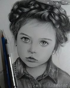 Pencil Portrait Mastery - Wonderful pencil drawing works by Honey Blade Discover The Secrets Of Drawing Realistic Pencil Portraits