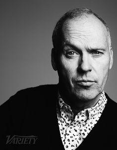 Michael Keaton by Ben Hassett for Variety • 2014