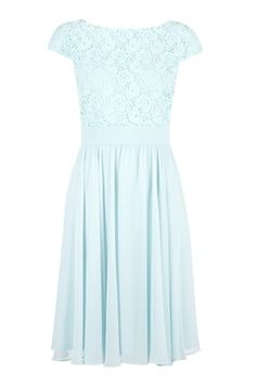 Duck Egg Blue Lace Prom Dress, steal the spotlight at your special occasion.