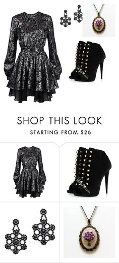 """""""Untitled #84"""" by amely15 ❤ liked on Polyvore featuring Just Cavalli and Kate Spade"""