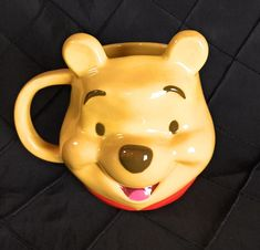 Vintage Disney Sanrio Smiles Winnie the Pooh Coffee Mug Cup Display Only Coffee Mug Cup. Allergy Alert: We live in a country home, heat with a wood fireplace and have 2 adorable dogs. Disney Coffee Mugs, Best Coffee Mugs, Large Coffee Mugs, Funny Coffee Mugs, Coffee Cups, Bambi Disney, Disney Pixar, Coffee Mug Display, Coffee Mug Holder